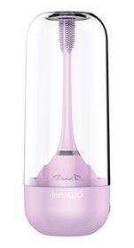 InnoGIO Sonic electric toothbrush for children with 360 ° function - violet