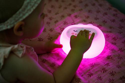 InnoGIO Silicone Night Light with Sounds GIOsleeping Bunny GIO-134 (23)