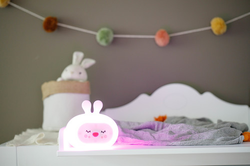 InnoGIO Silicone Night Light with Sounds GIOsleeping Bunny GIO-134 (16)
