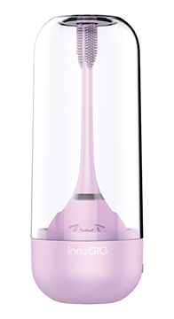 InnoGIO Sonic electric toothbrush for children with 360 ° function - violet (1)