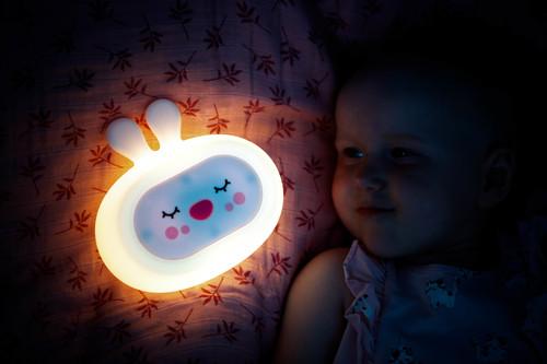 InnoGIO Silicone Night Light with Sounds GIOsleeping Bunny GIO-134 (12)