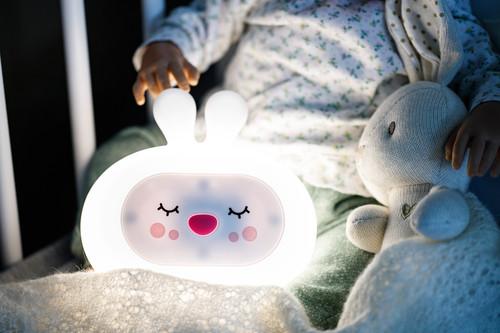 InnoGIO Silicone Night Light with Sounds GIOsleeping Bunny GIO-134 (7)