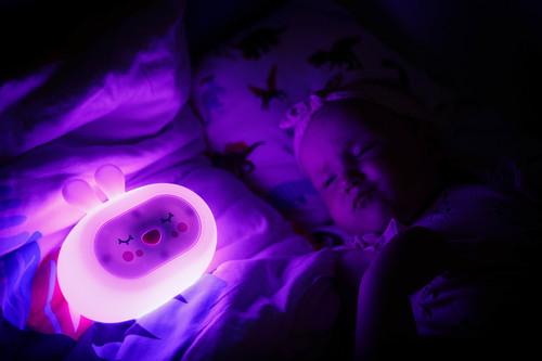 InnoGIO Silicone Night Light with Sounds GIOsleeping Bunny GIO-134 (21)