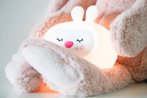 InnoGIO Silicone Night Light with Sounds GIOsleeping Bunny GIO-134 (20)