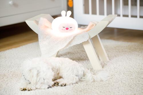 InnoGIO Silicone Night Light with Sounds GIOsleeping Bunny GIO-134 (17)