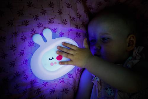 InnoGIO Silicone Night Light with Sounds GIOsleeping Bunny GIO-134 (10)