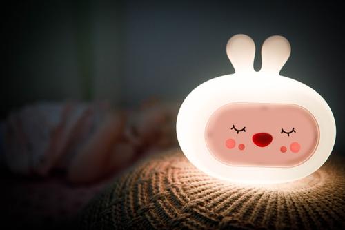 InnoGIO Silicone Night Light with Sounds GIOsleeping Bunny GIO-134 (9)