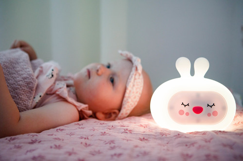 InnoGIO Silicone Night Light with Sounds GIOsleeping Bunny GIO-134 (13)