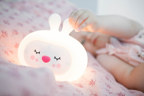 InnoGIO Silicone Night Light with Sounds GIOsleeping Bunny GIO-134 (8)