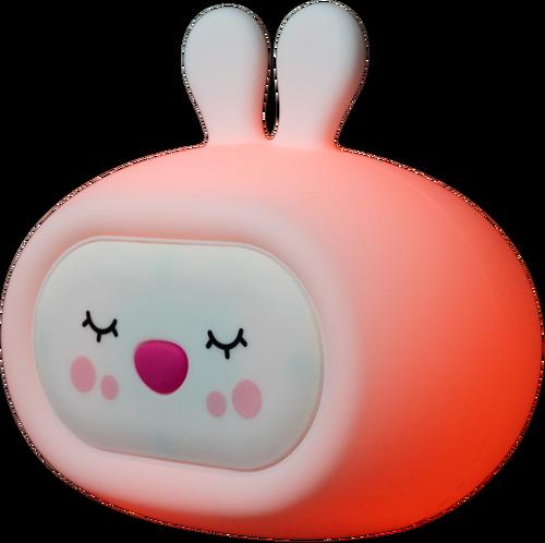 InnoGIO Silicone Night Light with Sounds GIOsleeping Bunny GIO-134 (5)